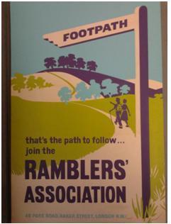 Ramblers Association poster © Ramblers