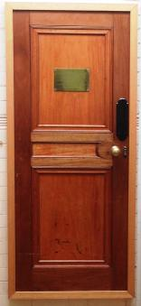 Image of door from HMS Gloucester, Gloucestershire Archives. Image courtesy of Gloucestershire Archives