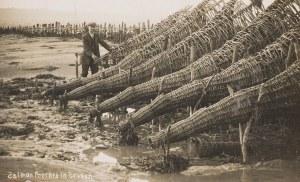 Photo of salmon fisherman on the Severn