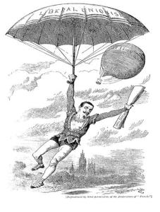 A cartoon from 'Punch' at the time of the passing of the Local Government Act