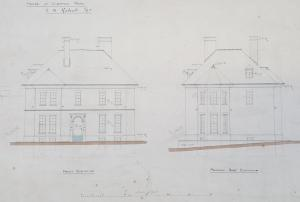Image of plans of The Hendre, D2970/1/162