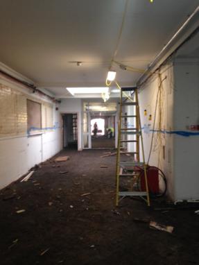 reception-corridor
