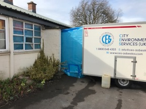 Asbestos removal - Horsa Hut north 1 of 2