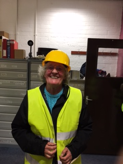 Hard hat tour 20170421 Pam Brogan