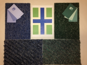 Colour selections for Heritage Hub interior
