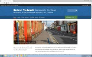 Barton and Tredworth website home page image