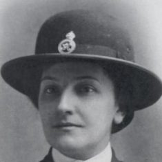 Image of Marion Sandover, the first woman to join Gloucestershire Police 6th May 1918