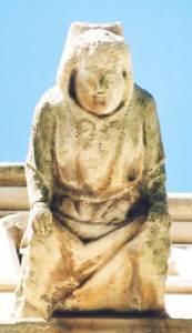 Image of Gargoyle of Cathedral monk
