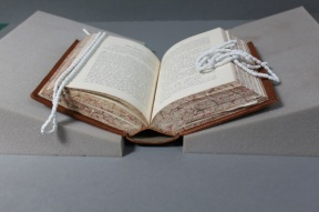 Hollow spine book